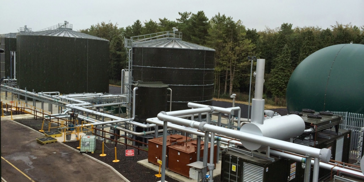 Codford Plant, Anaerobic digester